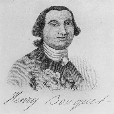 Colonel Henry Bouquet (Engraving)