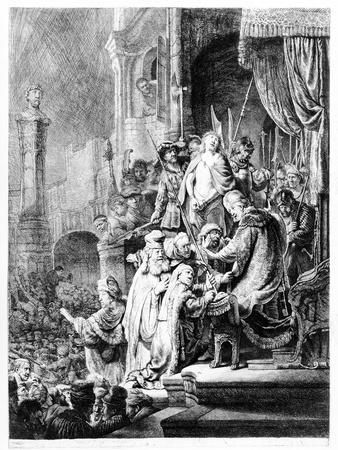 The Judgement of Christ, C.1636 (Etching)
