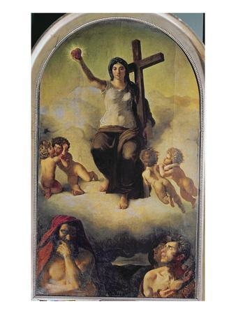The Virgin of the Sacred Heart, 1821
