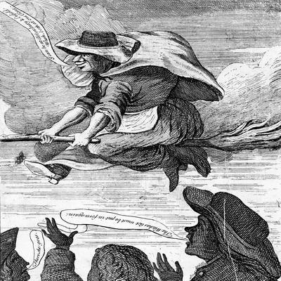 E. Canning Vindicated, or Gypsies Flight to Enfield Wash', 1753 (Etching)