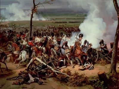 The Battle of Hanau, 1813, 1824 (Detail)