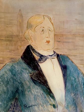 Portrait of Oscar Wilde, 1895 (W/C)