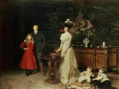 The Sitwell Family, 1900