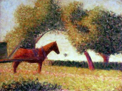 The Harnessed Horse, 1883
