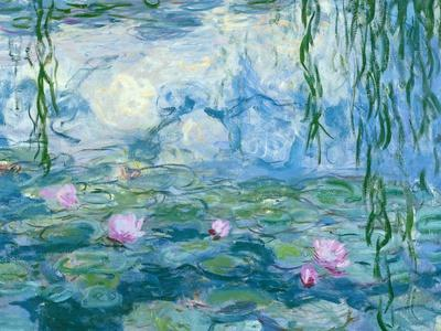Waterlilies, 1916-19 (Detail)