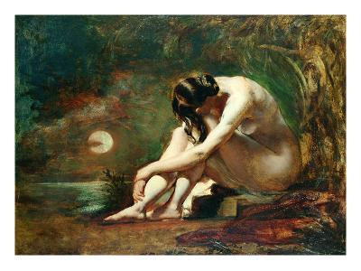 Moonlit Nude (Oil)