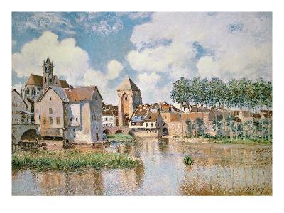 Moret-Sur-Loing, the Porte De Bourgogne, 1891