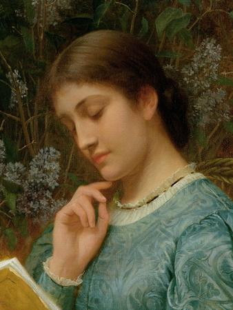Girl Reading (Possibly Kate Dickens)