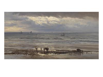 Kelp Gatherers - a Grey Morning, 1874