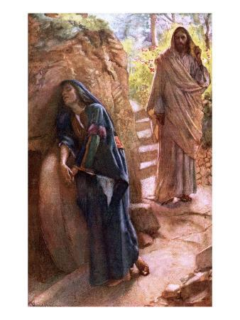 Mary Magdalene at the Sepulchre