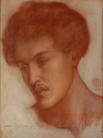 Augustus Howell, 1867 (Red Chalk on Paper)