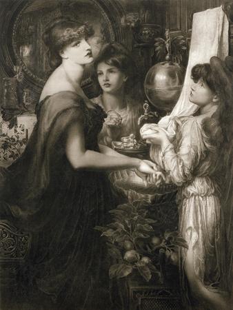 La Bella Mano, 1905 (Photogravure) (See 106994)