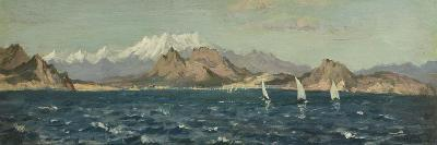 The Gulf of Rosas (Oil on Board)