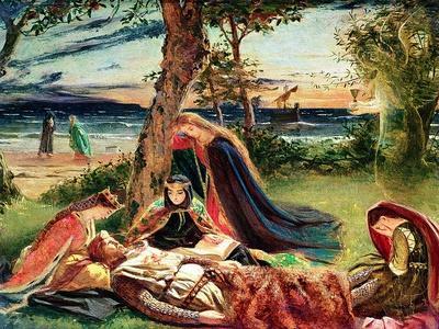 The Death of Arthur, C.1861