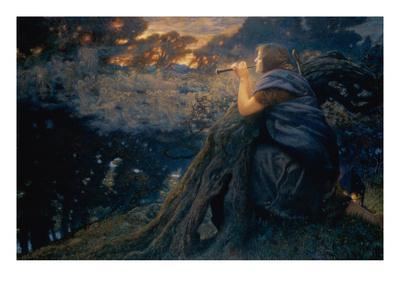 Twilight Fantasies, 1911 (W/C)