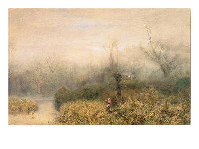 By a Lake, 1882