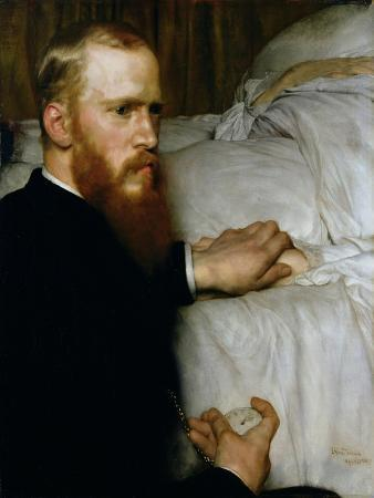 Portrait of Dr Washington Epps, My Doctor, May 1885
