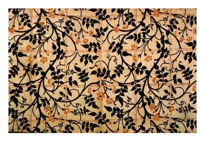Jasmine Trail Curtain Design, 1868-70 (Printed Cotton)