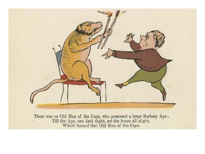 There Was an Old Man of the Cape, Who Possessed a Large Barbary Ape