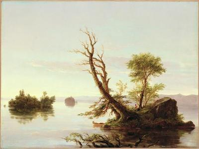American Lake Scene, 1844