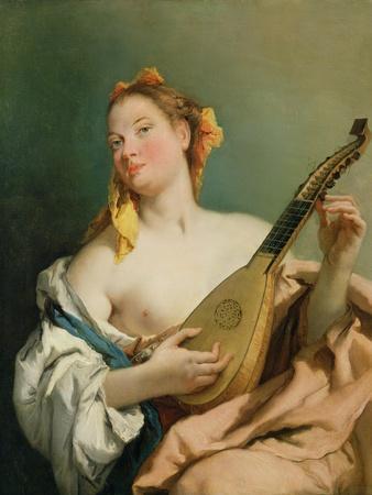 Girl with a Mandolin, 1755-60