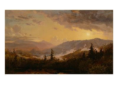 Sunset after a Storm in the Catskill Mountains, c.1860