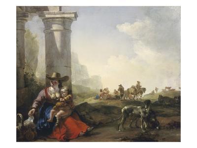 Italian Peasants Among Ruins, c.1649/50