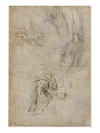 Scheme for the Decoration of the Ceiling of the Sistine Chapel, C.1508