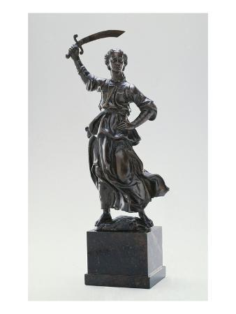 Judith, C.1470 (Bronze with Traces of Gilding)