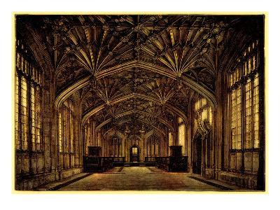 The Divinity School, Oxford: Built Between 1445 and 1454