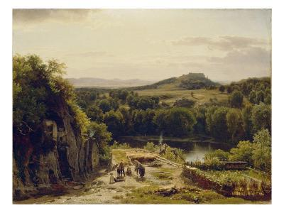 Landscape in the Harz Mountains, 1854