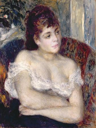 Woman in an Armchair, 1874
