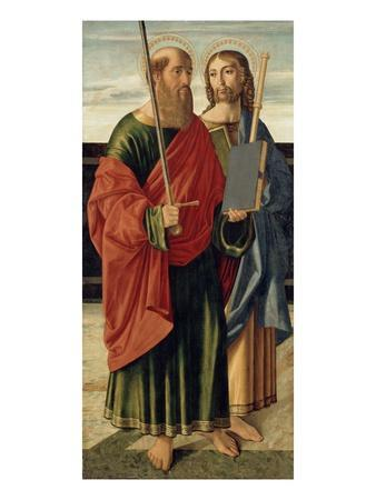 St. Paul and St. James the Elder, C.1499 (Tempera on Wood Panel)