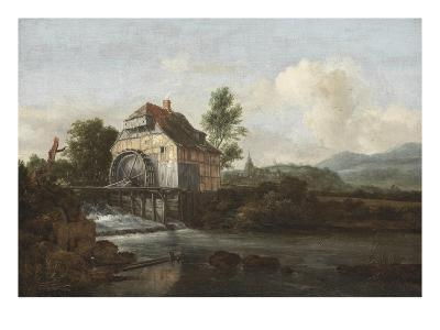 Landscape with a Watermill, c.1680