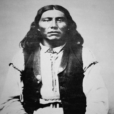 Naiche (D.1874) Chief of the Chiricahua Apaches of Arizona (B/W Photo)