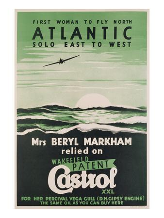 Poster Advertising 'Castrol' Oil, C.1938 (Colour Litho)
