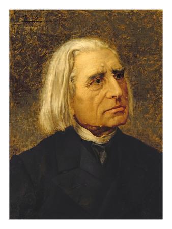Portrait of Franz Liszt (1811-86)