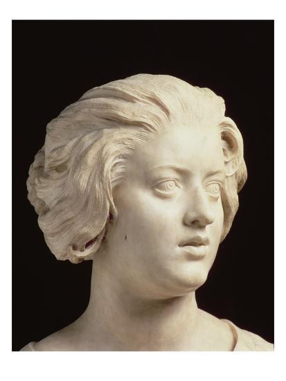 'Costanza Bonarelli, Detail of a Sculpture by Gian Lorenzo ...