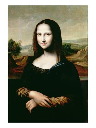 Mona Lisa, Copy of the Painting by Leonardo Da Vinci