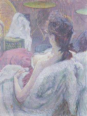 The Model's Rest, 1896 (Pastel on Paper)