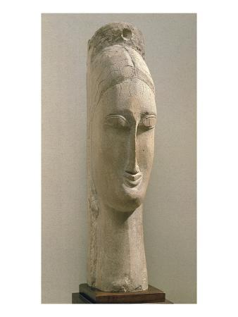 Head of a Woman (Stone)