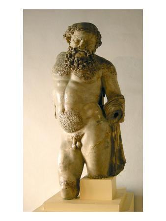 Silenus, Drunk, Copy of a Greek Original (Marble)