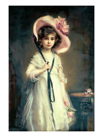 Portrait of Nancy, Daughter of Arthur Tooth