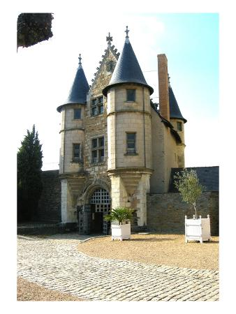 Angers Castle, View of the Gateway (Photo)