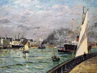 The Port of Le Havre, Normandy, 1905