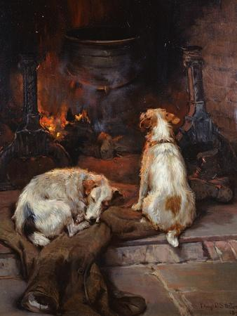 By the Hearth, 1894