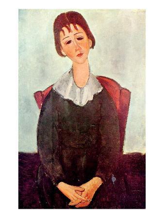 Girl in Black, 1918