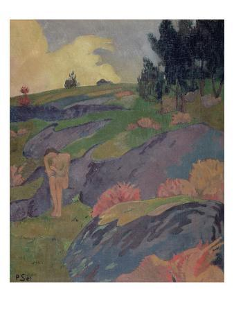 Melancholia, or Breton Eve, C.1890