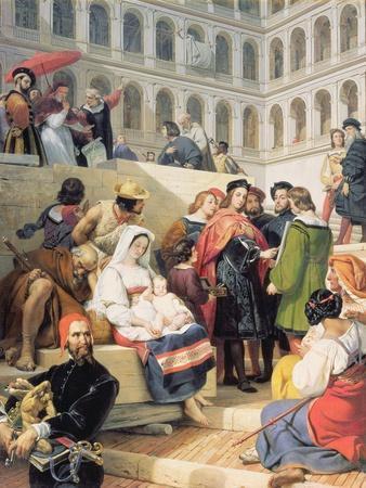 Raphael in the Vatican, 1832