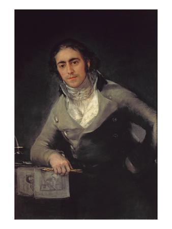 Portrait of a Man Presumed to Be Don Evaristo Perez De Castro
